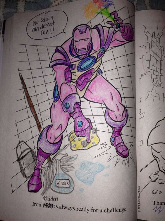 54 Coloring Book Corruptions That Will Taint Your