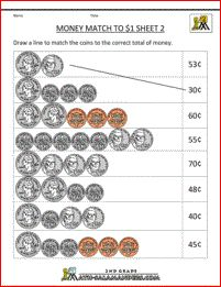 Money Match: What&#39s the Price?   Worksheet   Education.com