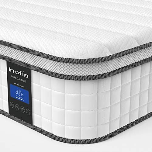 Twin Xl Mattress Inofia Responsive Memory Foam Mattress Hybrid Innerspring Mattress In A Box Sleep Cooler With More Pressure Relief Support Certipur Us Certified 10 Inch Twin Xl In 2020 Twin