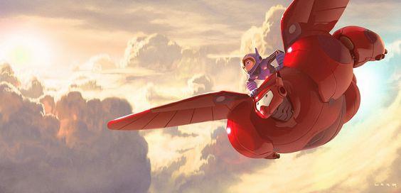 大英雄天團 Big Hero 6 的美術 | ㄇㄞˋ點子靈感創意誌