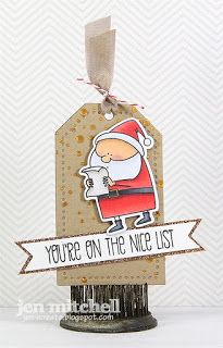 Christmas tag, Tag You're It, I Create