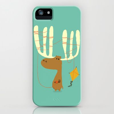 A moose ing iPhone & iPod Case by Budi Satria Kwan - $35.00