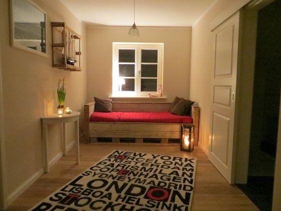 Upcycling Bett aus Paletten / Bed made from europallets  Kreativ ...