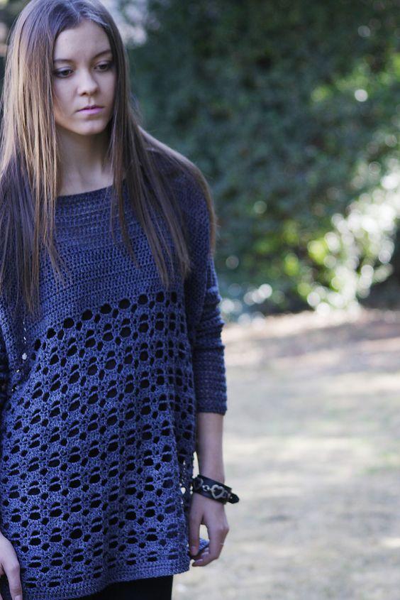 Rebel Sweater By Brenda Grobler - Free Crochet Pattern ...