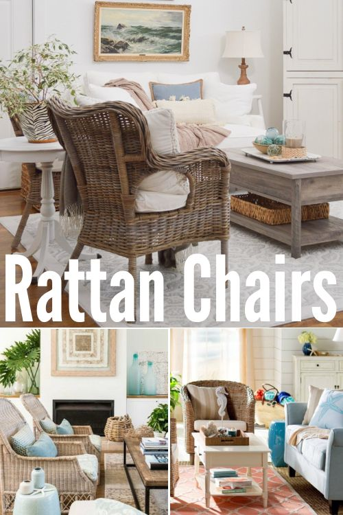 Rattan Chairs For Coastal Beach Style Living Small Sitting Rooms Rattan Chair Velvet Dining Chairs