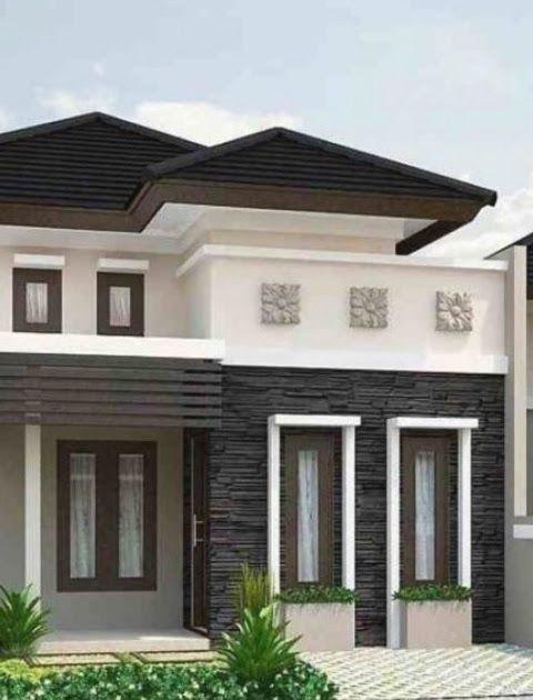 Contoh Cat Luar Rumah Moden Desain Dekorasi Rumah