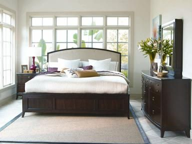 Better Homes And Gardens By Universal Bedroom Leather Platform Headboard 5 0 838310 Barrs