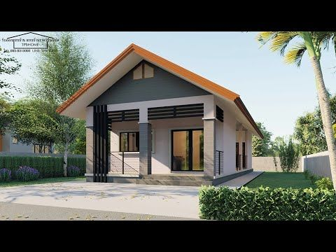 Our Small Home Plans Feature Outdoor Living Spaces Open Floor Plans Flexible Spaces Large Windows And More T In 2020 Porch House Plans Simple House Plans Simple House