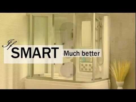 Shower Glass Enclosures And Mirror Corner Shower Door