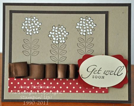Stamp and Scrap with Amy: A Little Get Well
