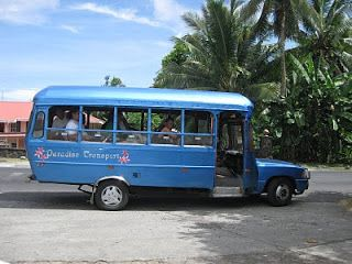 Mission and beyond, Samoa Bus.