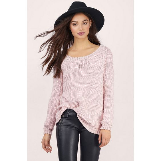 Tobi Warmer Than Life Sweater ($36) ❤ liked on Polyvore featuring ...