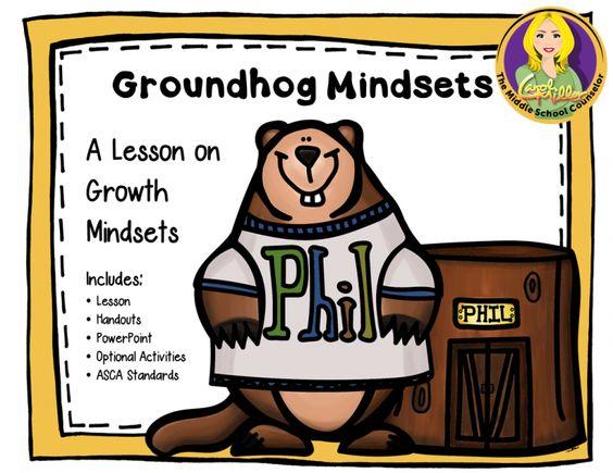 Mindfulness : Groundhog Mindsets lesson plan