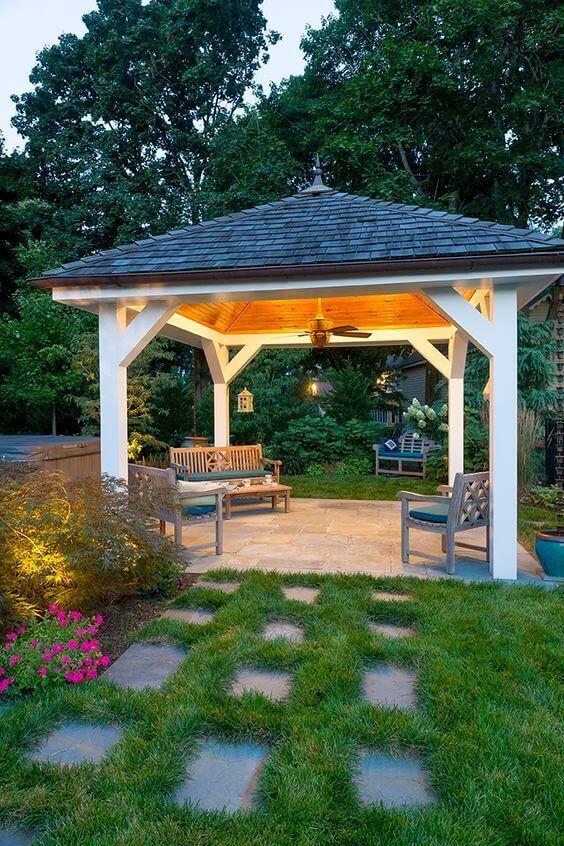 32 Bright Outdoor Pavilion Lighting Fixtures Backyard Pavilion