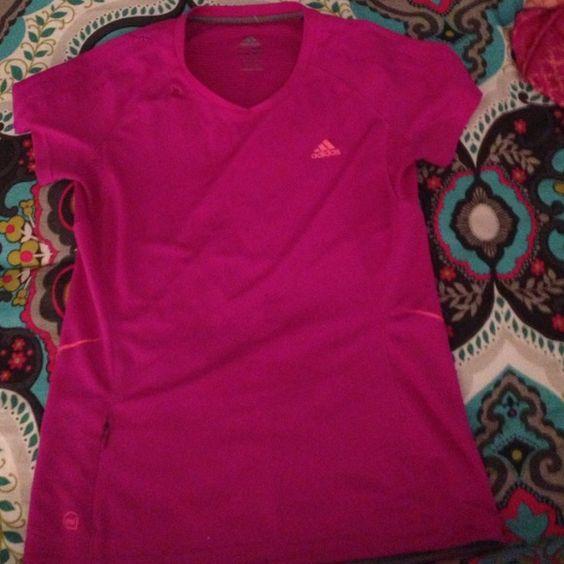 ADIDAS shirt ADIDAS EMBROIDER ON FRONT LEFT CHEST no trade no trade no paypal Adidas Tops