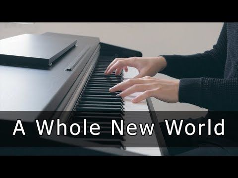 Aladdin A Whole New World Piano Cover By Riyandi Kusuma