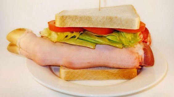 Was wirklich drin ist Fast Food unter die Lupe genommen - Schinken wird in Hongkong aus Schweinefüßen hergestellt