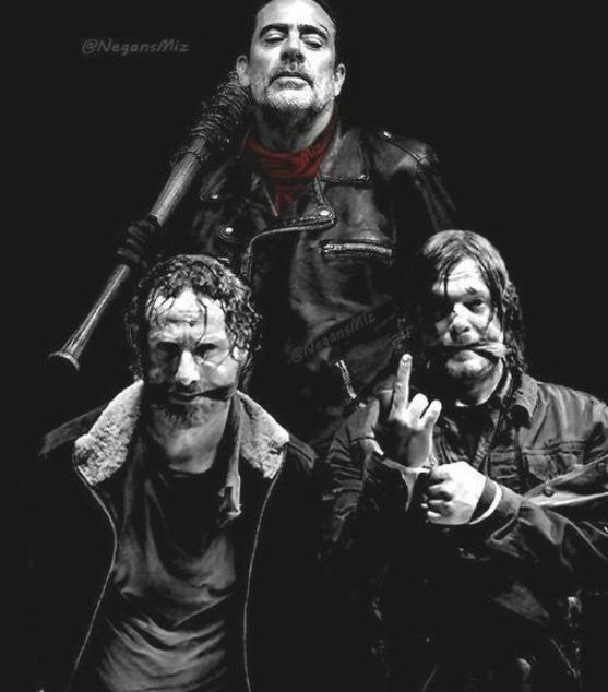 Rick Negan Daryl Andrew Lincoln Jeffrey Dean Morgan Norman Reedus The Walking De Walking Dead Daryl Negan Walking Dead The Walking Dead Merchandise
