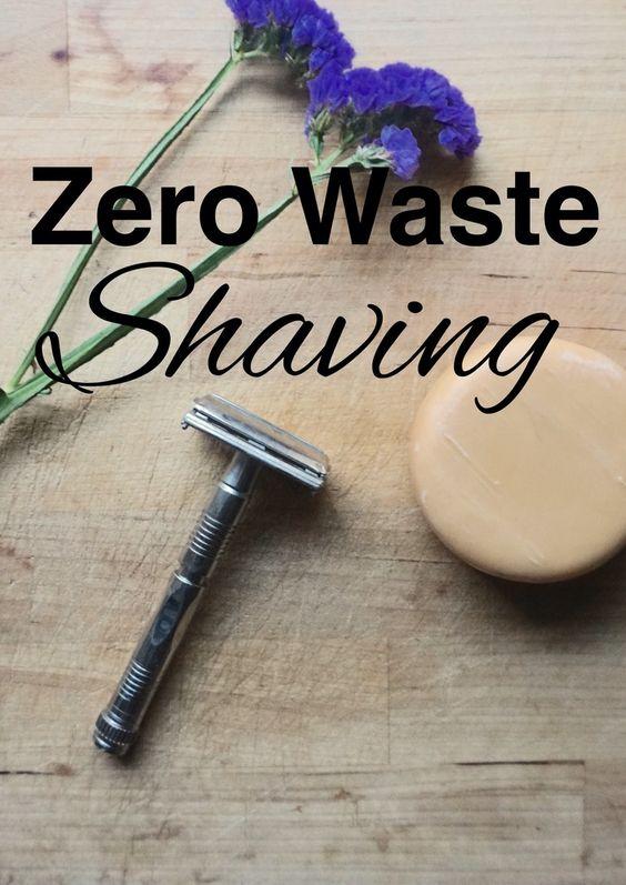 Zero waste shaving with safety razors from www.goingzerowaste.com