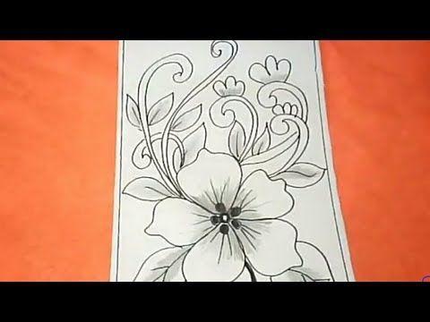 How To Draw Batik Flower Motif 32 Cara Menggambar Batik Motif Bunga 32 How To Draw Batik Flower Motif 32 Youtube Drawings Flower Drawing Batik Design