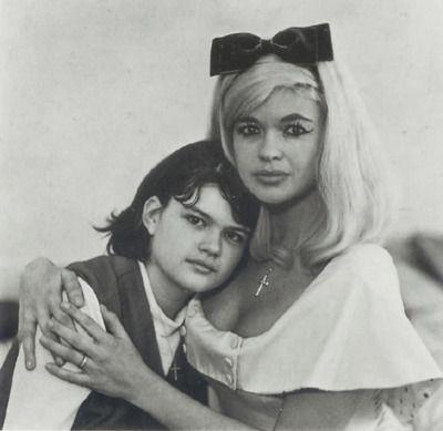 Jayne Mansfield and mariska