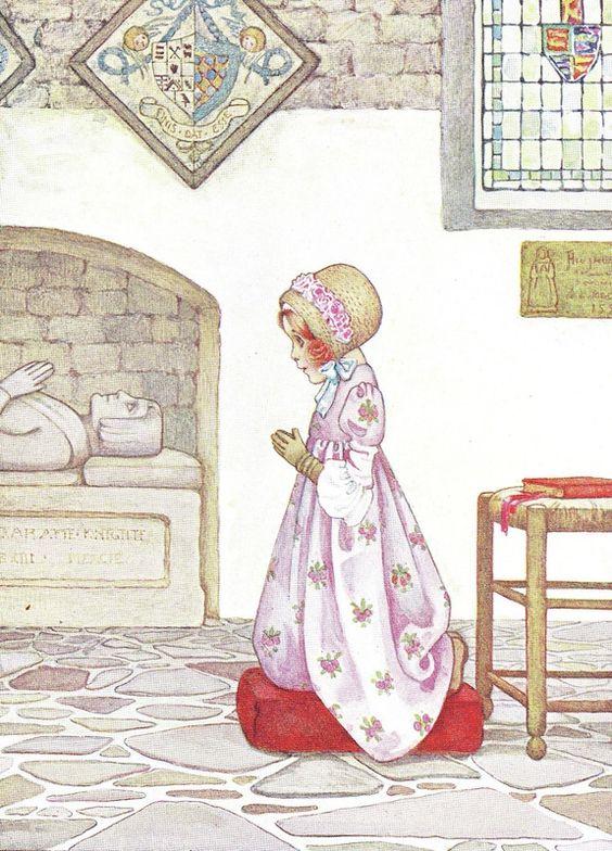 "1907 Millicent Sowerby book illustration, via <a href=""http://www.brokenbooks.net"" rel=""nofollow"" target=""_blank"">www.brokenbooks.net</a>:"