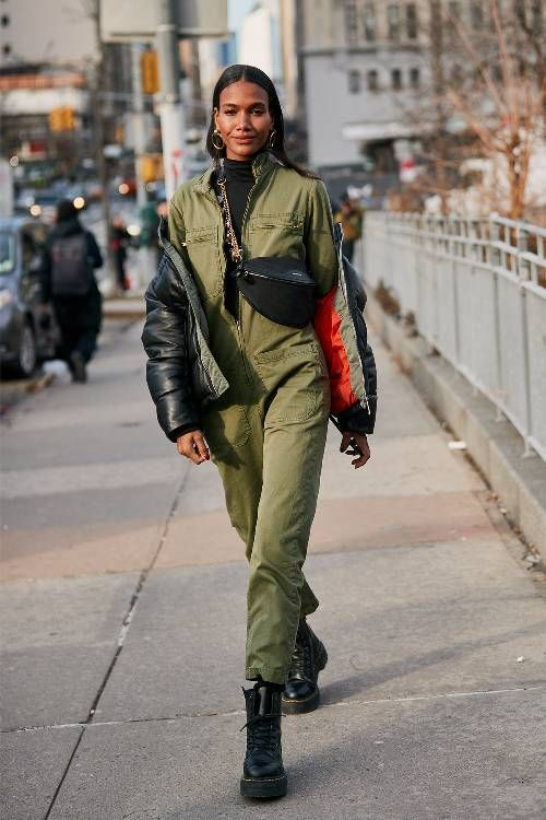 See the Latest New York Fashion Week Street Style Fall 2019 | Who What Wear UK