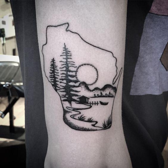 Wisconsin tattoo google search tattoos pinterest for Tattoo madison wi