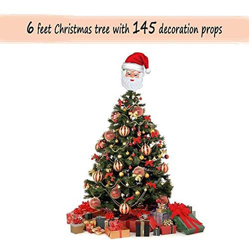 Tied Ribbons Christmas Tree 6 Feet With Stand And 145 Dec Https Www Amazon In Dp B0785r1gq9 Christmas Tree Artificial Christmas Tree Christmas Tree 6 Foot