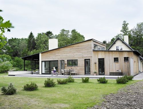 Scandinavian Design Houses a scandinavian cottage from style file.the couple expanded the