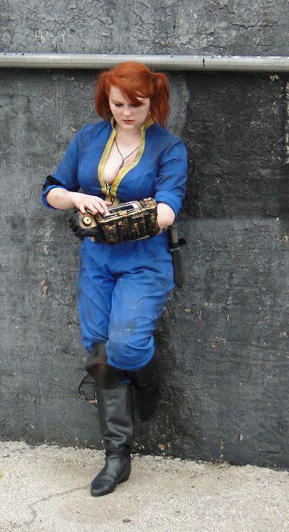 image Vault girl vault suit