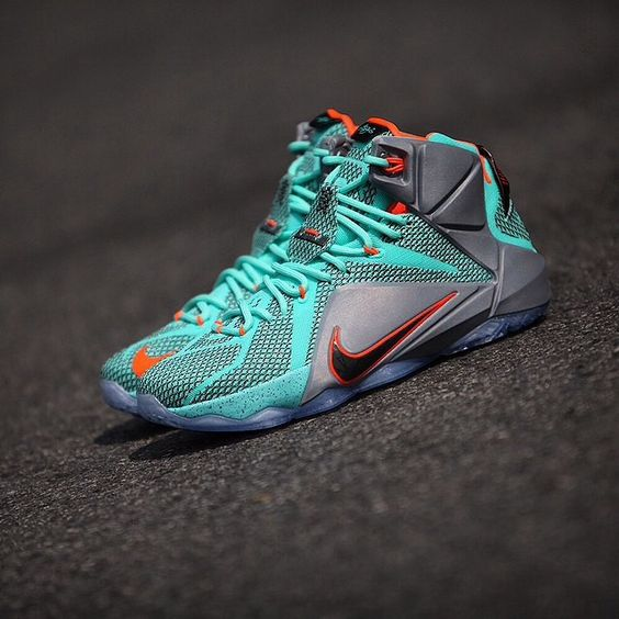 Clean shot of the Lebron 12s