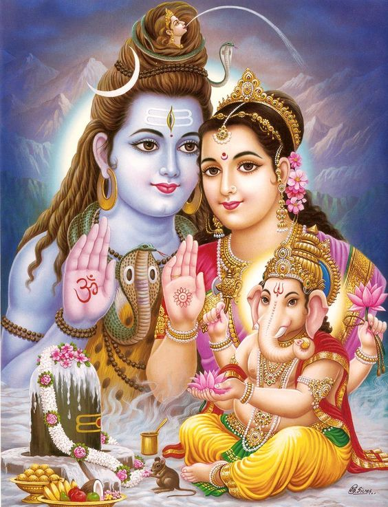 Hindu God Lord Shiva (Siva) - the Destroyer