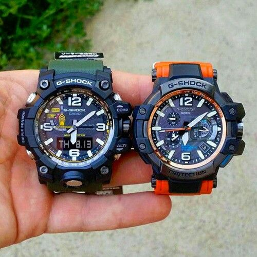 SHOCKS MUDMASTER Vs AVIATOR G SHOCK Pinterest