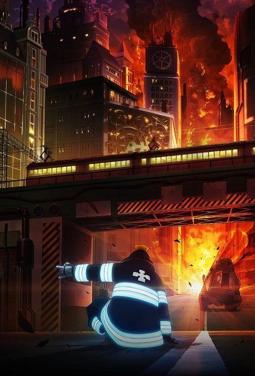Fire Force 02 Vostfr : force, vostfr, Shouboutai, (Fire, Force):, Saison, Episode, D'ecran, Dessin,, D'écran, Téléphone,, Téléphone, Manga
