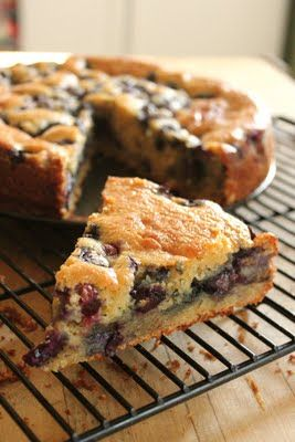 Ricotta and Blueberry Cake