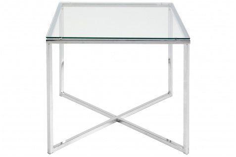 Ordinary Beistelltisch Glas Chrom