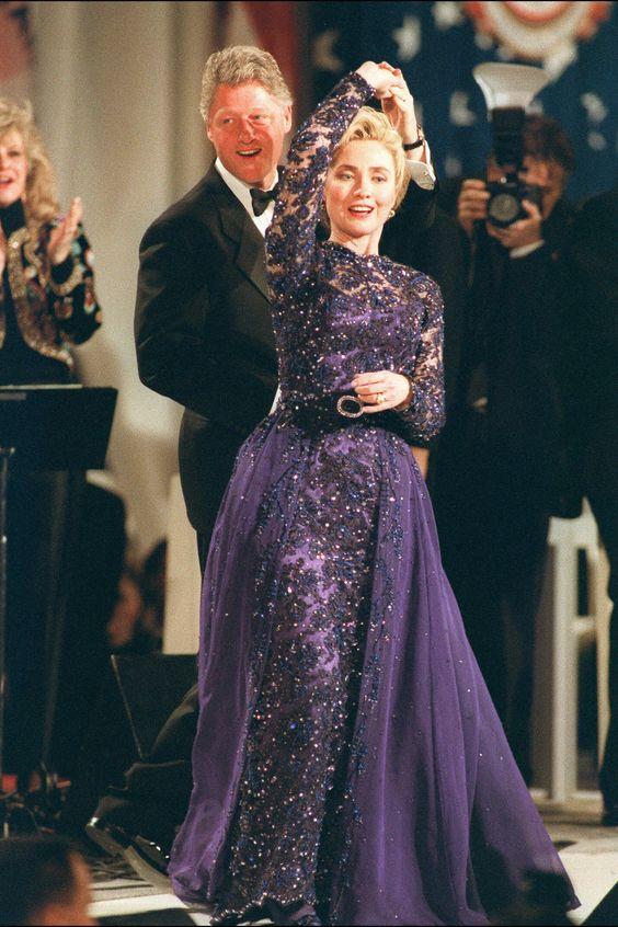 At the Arkansas Inaugural Ball following President Bill Clinton's inauguration