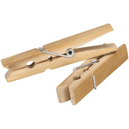 Household Essentials Bamboo Clothespins, 96ct  #WalmartGreen