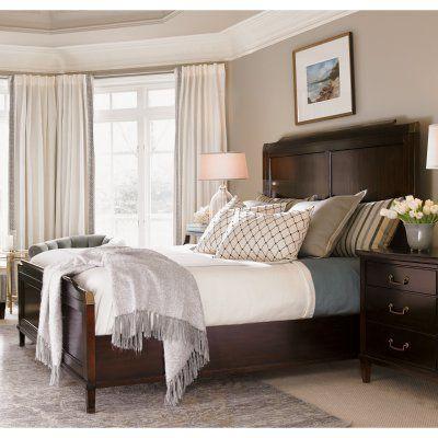 Lexington Home Brands Kensington Place Bennington Panel Bed, Size: California King - 708-135HB
