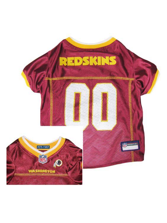 Washington Redskins Pet Jersey
