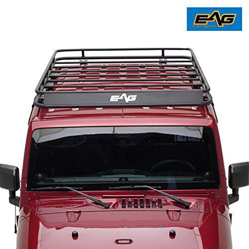Eag 2007 2018 Jeep Wrangler Jk Full Length Roof Rack Carg Https Www Amazon Com Dp B071fpt7xk Ref Cm Sw R Pi Awdb Jeep Wrangler Jk Jeep Wrangler Roof Rack