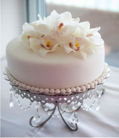 orchid cake-Kaylee this is nice idea!!