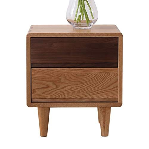 Bedside Table Solid Wood Side Table Corner Cabinet Bedroom Locker Small Drawer One Drawer Office Coffee Table Solid Wood Side Table Side Table Wood Night Table