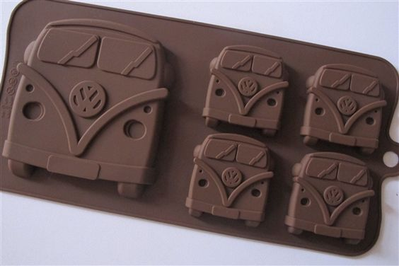 Camper van silicone moulds! Thanks @silverpebble for this one :)