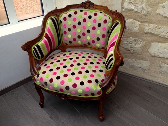 Pinterest le catalogue d 39 id es - Restauration fauteuil crapaud ...