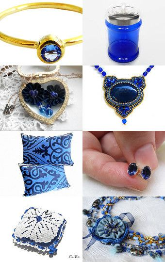 Stunning Sapphire! by Ivy Starshine on Etsy--Pinned with TreasuryPin.com