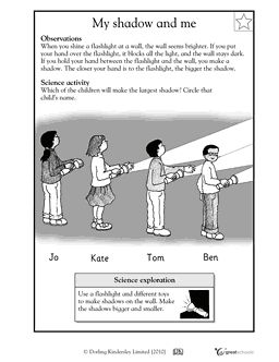 28+ [ Measuring Shadows Worksheet ]   science and children ...