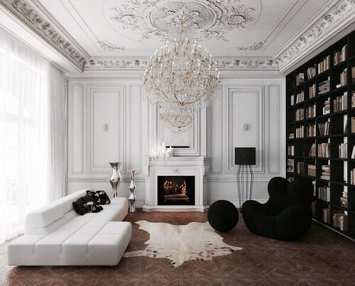 Dreamy modern French apartment ideas.