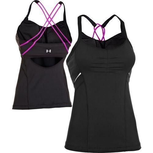 Under Armour Women's StudioLux Spin Tank Top @ http://www.FitnessGirlApparel.com
